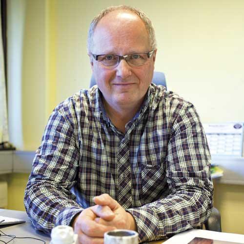 Jan Henrik P. Hansen, eier og daglig leder av firmaet Strøminstallatøren AS.