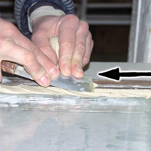 Hvordan legge kitt på vinduer