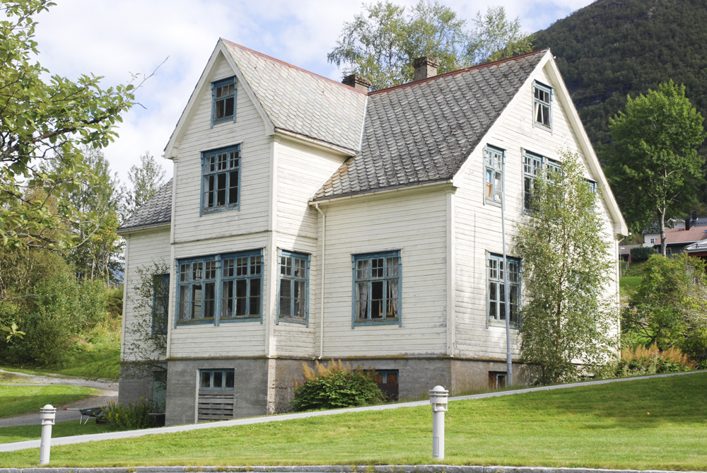 Vikenhuset på Skei i Jølster kommune. Foto: Hallvard Viken.