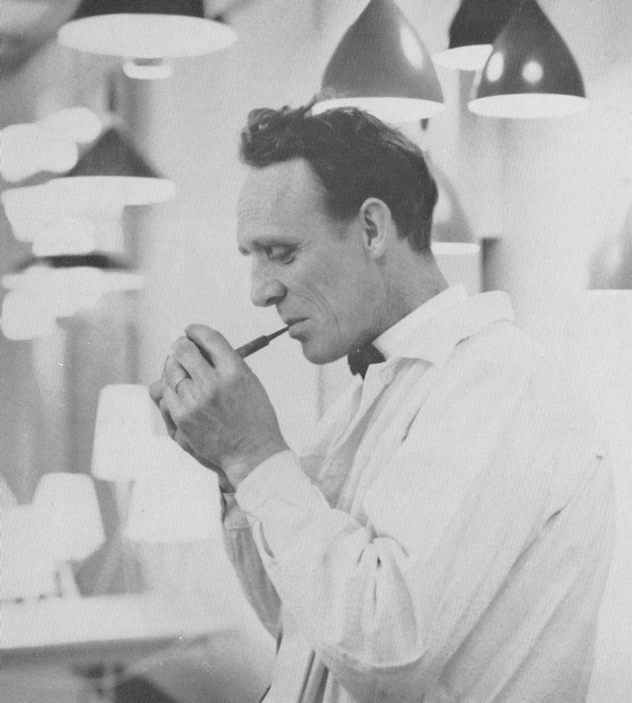 Birger Dahl på slutten av 1950-tallet.