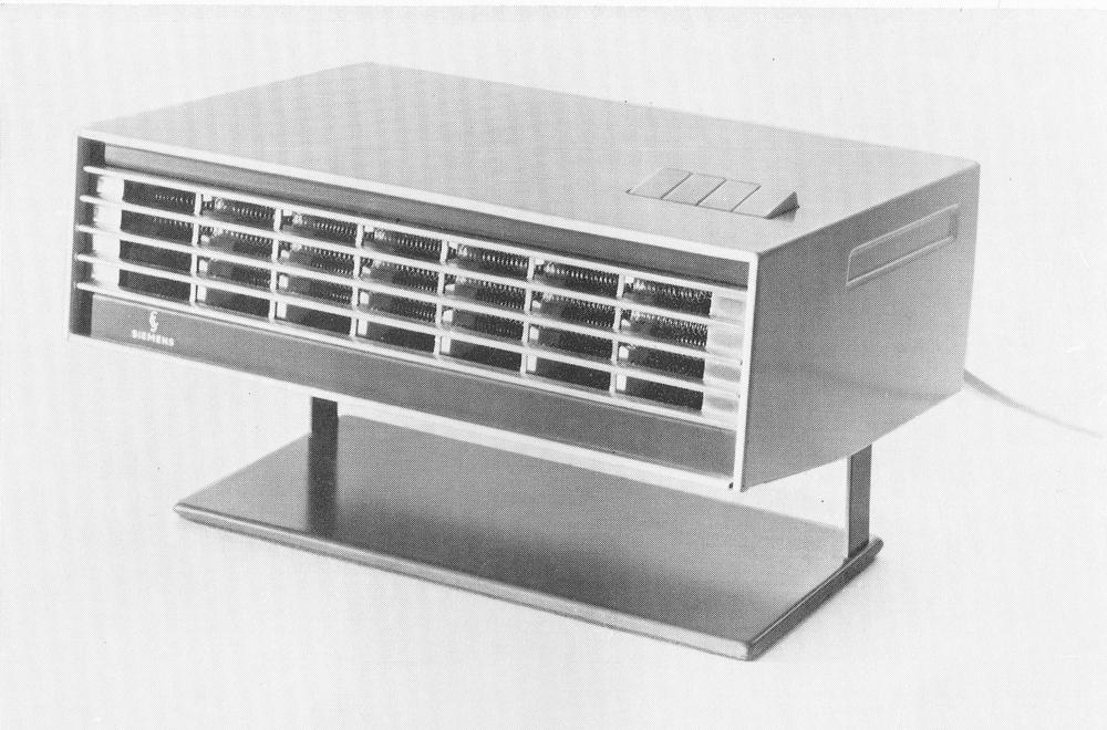 VV5, vifteovn fra Siemens. Modellen ble tildelt Merket for god design i 1966.