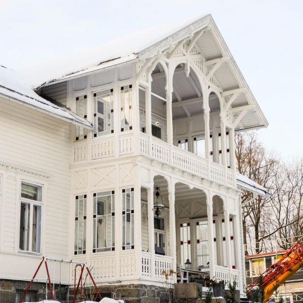Villa på Bestum, Oslo. 1885.