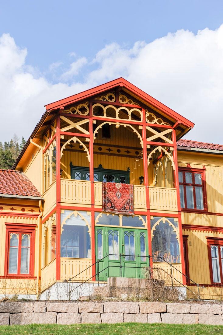 Villa i Drammen, Buskerud.