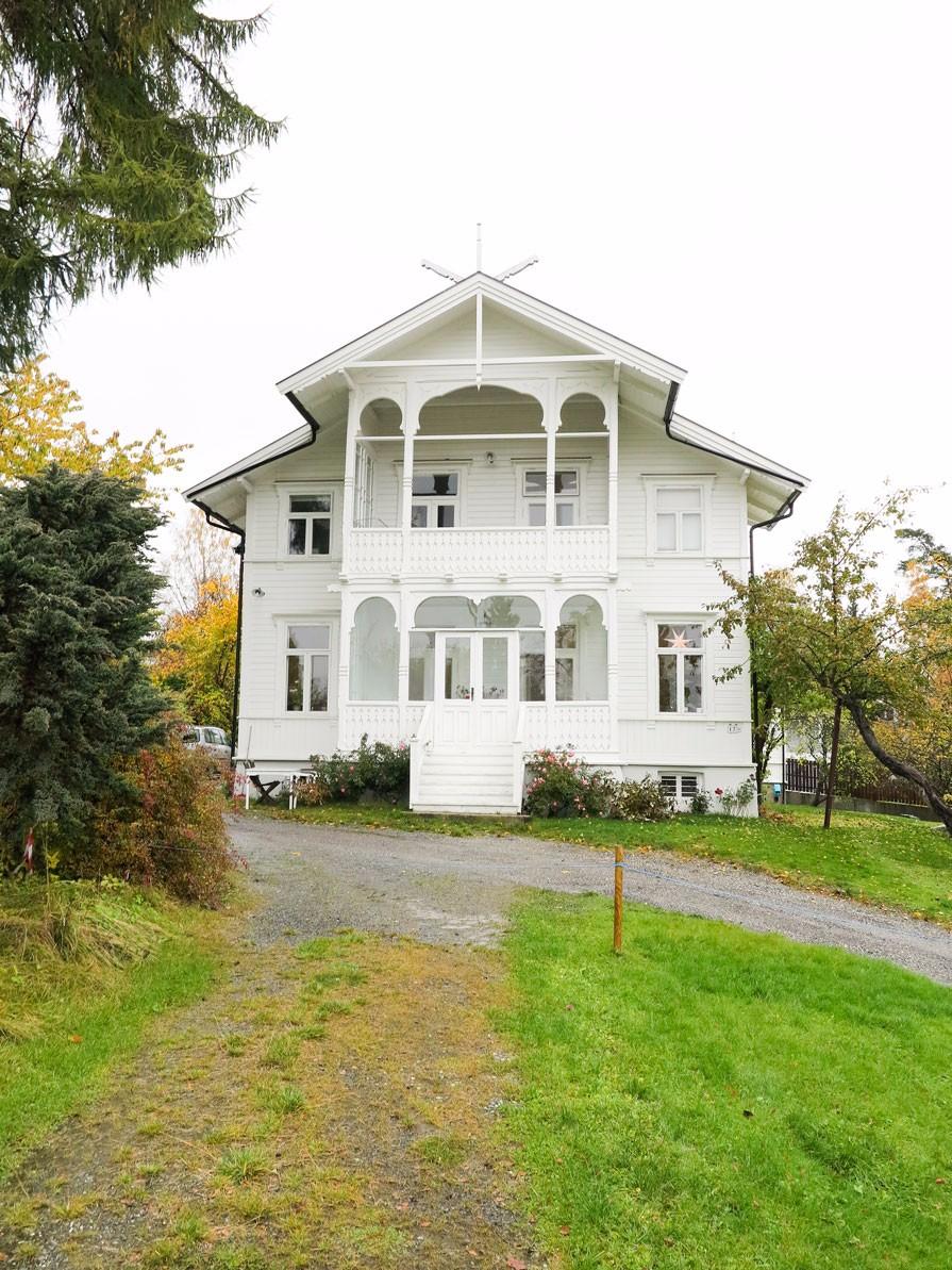 Villa på Bestum, Oslo. 1897.