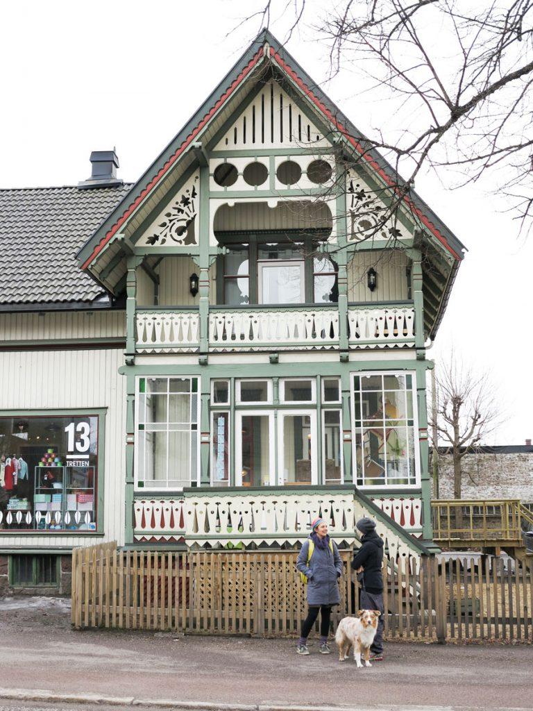 Flott veranda i Tønsberg, Vestfold.