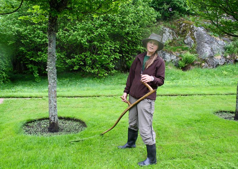 Student ved «Historiske Grøntanlegg» fikk praksisplass ved Gunnebo slott i Sverige.