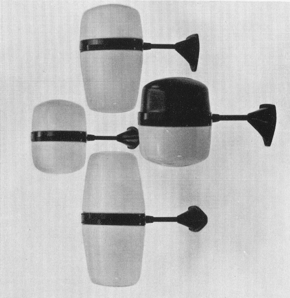Utelamper, Sønnico modell S/2015. I produksjon fra 1955.