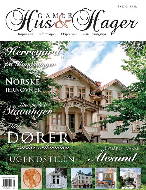 Nor prydet forsiden på magasinets utgave 5 i 2010.