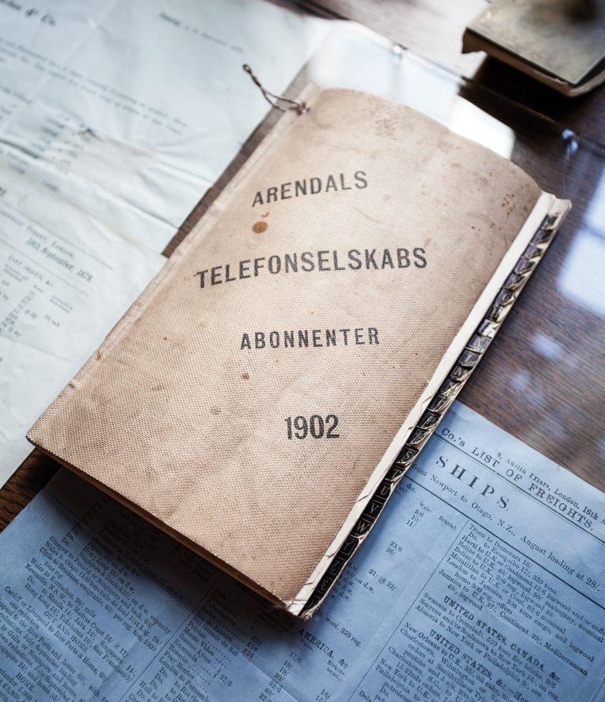 Overtoldinspectør Kløcker hadde innlagt strøm og telefon allerede i 1902.